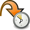 Orange, participant, Move, waiting Icon