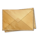 mail, Message, Email, Letter, envelop BurlyWood icon