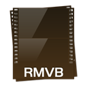 Rmvb, video Black icon