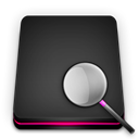 searchhd DarkSlateGray icon