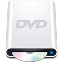 Hd, dvdrom WhiteSmoke icon