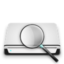 searchhd Black icon