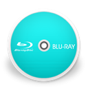 Blu ray DarkTurquoise icon