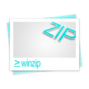 paper, Winzip, File, document Black icon