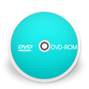 dvdrom DarkTurquoise icon
