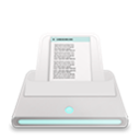 printsandfaxes Black icon