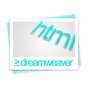 html, File, dreamweaver, paper, document Black icon