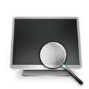 searchcomputer DarkSlateGray icon