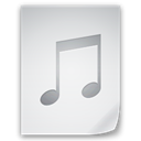 music, File, paper, document WhiteSmoke icon