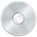 Disk, save, disc, Cd LightGray icon
