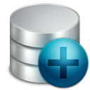Database, new, db Black icon