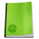 Book, reading, read, Address YellowGreen icon