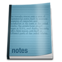 notepad CadetBlue icon