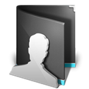 profile, people, Account, Folder, Human, Black, user DarkSlateGray icon
