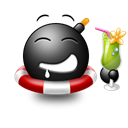 cocktail Black icon