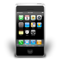 mobile phone, Os, Cell phone, smartphone, Iphone, interfaz Black icon