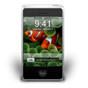 Iphone, smartphone, Cell phone, Clown, fish, Animal, mobile phone Black icon