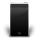 mobile phone, off, Iphone, smartphone, Cell phone Black icon