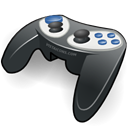 gamepad Black icon