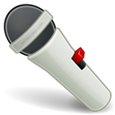 mic, Microphone Black icon