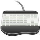 Keyboard DarkSlateGray icon