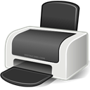 printer, Print DarkSlateGray icon