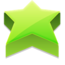 bookmark, star, Favourite YellowGreen icon
