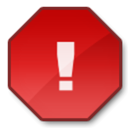 exclamation, Alert, Error, warning, wrong Firebrick icon