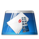 envelop, mail, Message, Email, Letter Black icon