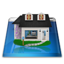 Home, homepage, Building, house Black icon