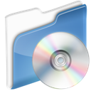 Disk, Cd, disc, save, dossier CornflowerBlue icon