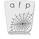 Afp, paper, File, document Lavender icon