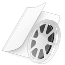 dossiervideos Black icon