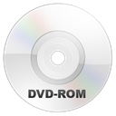 Dvd, rom, disc WhiteSmoke icon