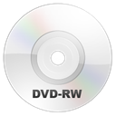 disc, Dvd, Rw WhiteSmoke icon