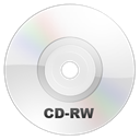 Rw, Cd, save, Disk, disc WhiteSmoke icon