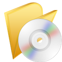 save, M, Disk, Cd, disc Khaki icon