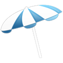 parasol Black icon