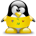 Togo, Animal, Penguin Black icon