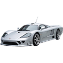 transport, Car, vehicle, sports car, saleen, Automobile, racing car, transportation Black icon