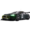 transportation, vehicle, martin, transport, Car, Aston, Automobile, sports car, racing car Black icon