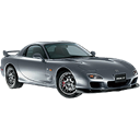 mazda, Car, transportation, vehicle, sports car, transport, racing car, Automobile Black icon