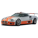 transport, Automobile, transportation, racing car, spyker, vehicle, Car, sports car Black icon