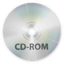Disk, Cd, rom, disc, save Silver icon