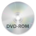 Dvd, disc, rom Silver icon