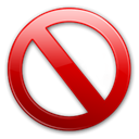 Banned Black icon
