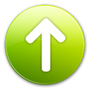 increase, Up, Ascending, upload, Arrow, arrow up, Ascend, rise YellowGreen icon