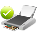 printer, Print, default Black icon