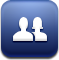 social network, Social, Facebook, Sn MidnightBlue icon