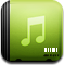 itunes Khaki icon